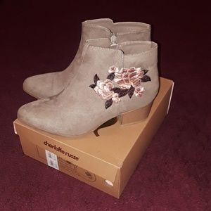 Charlotte Russe N.I.B ankle boots!